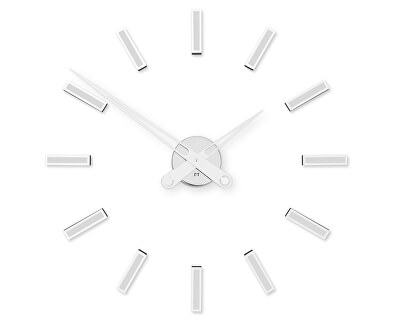 Nalepovací hodiny Modular White FT9600WH