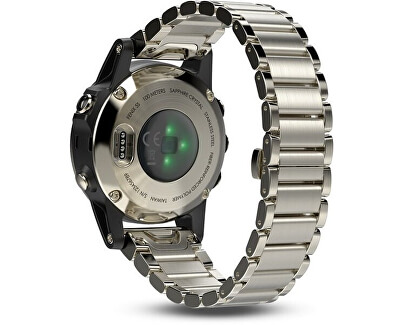 Fenix 5S Sapphire Champagne Optic Metal band