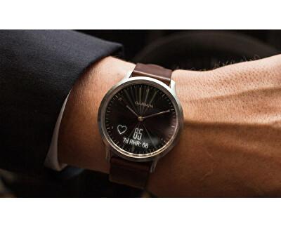 Vivomove Optic Premium chytré hodinky (vel. L) stříbrné