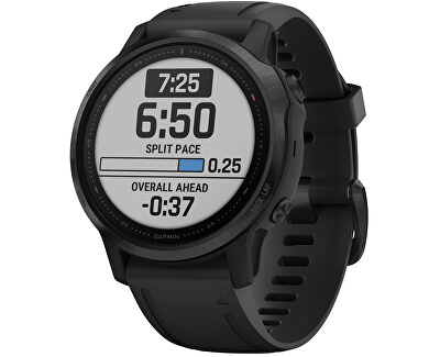 Fenix 6 PRO Black/Black Band (MAP/MUSIC) 010-02158-91
