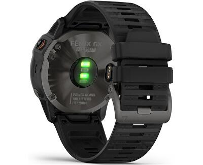 Fenix 6X PRO Solar Titanium GrayDLC/Black Band 010-02157-94