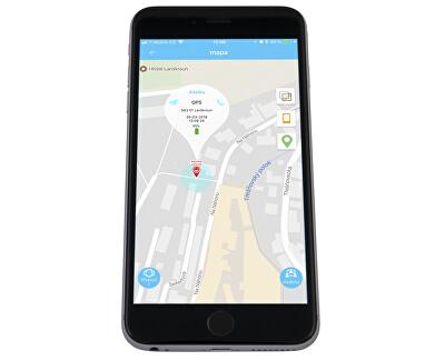 Chytré dotykové hodinky s GPS lokátorem LK 703 modré