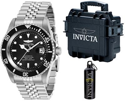 VÝHODNÝ SET Automatic Pro Diver 29178 + stylový kufr + cestovní láhev