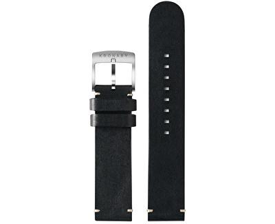 Řemínek černý 20 mm A1000-3276