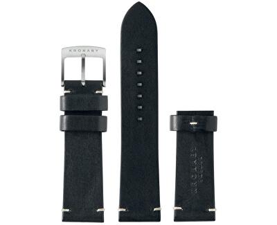 Řemínek černý 22 mm A1000-0181