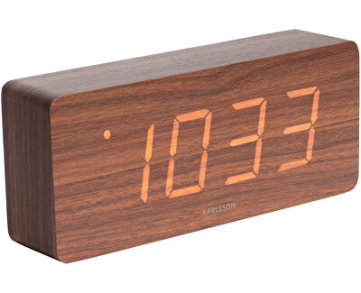 Designový LED budík - hodiny KA5654DW