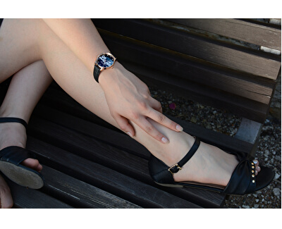 Laila Black Rose Gold TLJ779