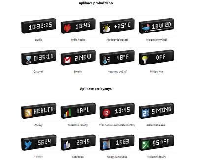 WiFi LED indikační panel