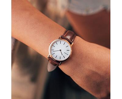 Mini Brown Leather