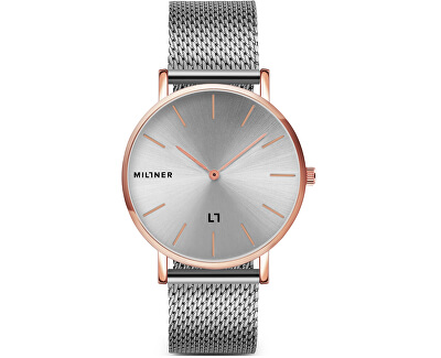 MayfairS Rose Silver 36 mm