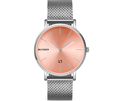 Mayfair S Silver Pink 36 mm