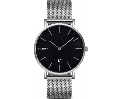 Mayfair S Silver Black 36 mm