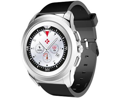 Hybridní hodinky ZeTime Original Silver/Black - 39mm