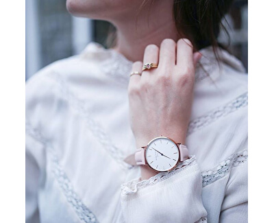 THE BOWERY White Pink Rose gold