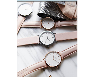 The Tribeca White-Pink-Rosegold