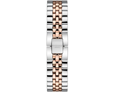 The Boxy Black Silver Rose gold Duo QVBSD-Q016