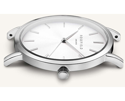 The Tribeca White Sunray Steel Silver Gold Duo TWSSG-T63 - SLEVA