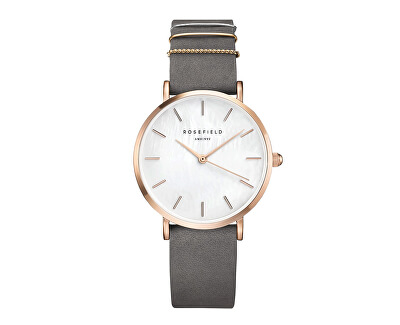 Rosefield The West Village Elephant Grey Rosegold
