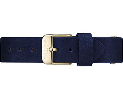 Rosefield WestVillage Blue Gold Strap