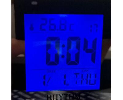 LCD stolní hodiny LCT076NR02