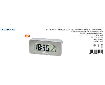 LCD stolní hodiny LCT086NR03