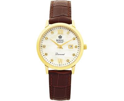 11110-02 Dámské hodinky s diamanty