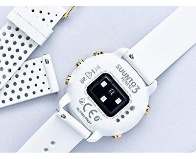 Silikonový děrovaný řemínek k hodinkám Suunto 3 Fitness