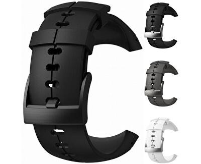 Řemínek k hodinkám Spartan Ultra šedý s šedou titanovou sponou - SLEVA
