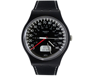 Swatch BLACK BRAKE SUOB117 Doprava ZDARMA  d022ed9b837