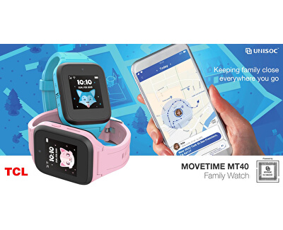 MOVETIME MT40 Family Watch 40 Pink