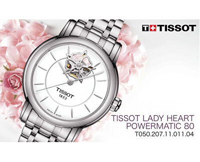 Lady Heart Powermatic 80 T0502071101104