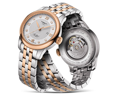 Le Locle Automatic Lady T006.207.22.036.00 s diamanty