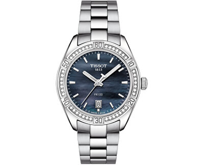 T-Classic PR 100 Chic Lady s diamanty T101.910.61.121.00