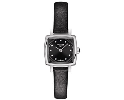 T-Lady Lovely Square T058.109.16.056.00 s diamanty
