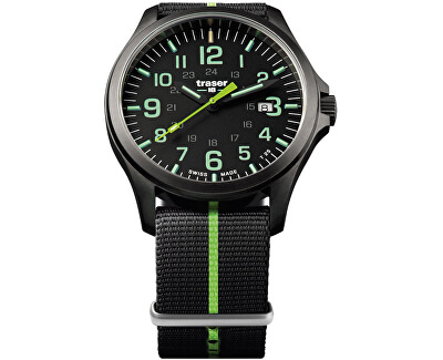 Traser P67 Officer Pro Gunmetal Black/Lime
