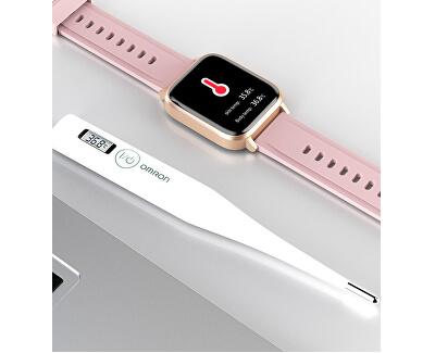 GT01 DIX02 Inteligentní hodinky pro měření tělesné teploty - GREY