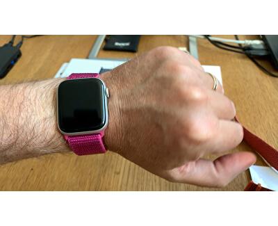 Provlékací sportovní řemínek pro Apple Watch - Dragon Fruit 38/40 mm