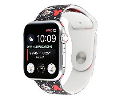 Silikonový řemínek pro Apple Watch - Mickey Mouse 42/44 mm