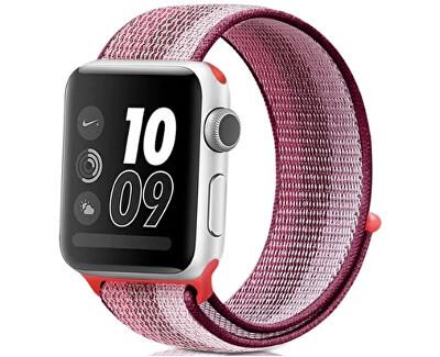 Provlékací sportovní řemínek pro Apple Watch - Berry 38/40 mm