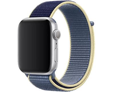 Provlékací sportovní řemínek pro Apple Watch - Seversky modrý 38/40 mm
