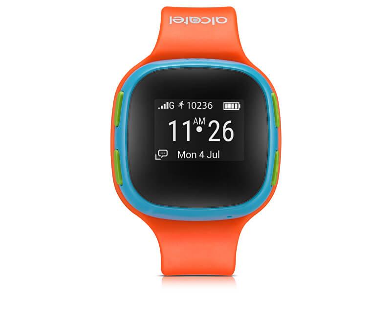 Alcatel GPS lokátor MOVE TIME Track&Talk Watch, Orange/Blue