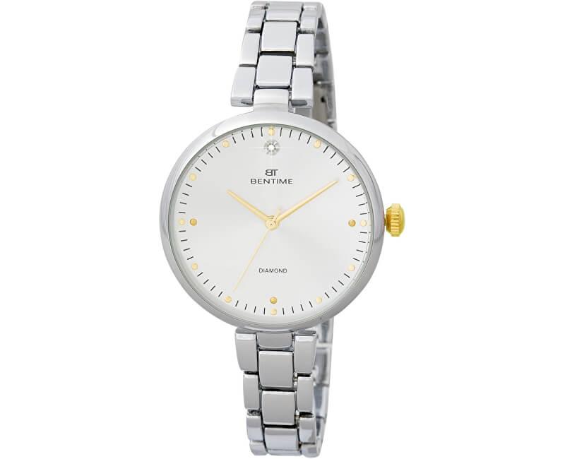 Bentime Dámské hodinky s diamantem 027-9MB-PT12103B Doprava ZDARMA ... 7681a77c12