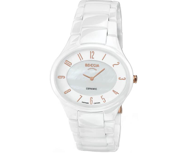 ba694ba17b6 Boccia Titanium Ceramic 3216-03 Doprava a roční pojištění hodinek ...