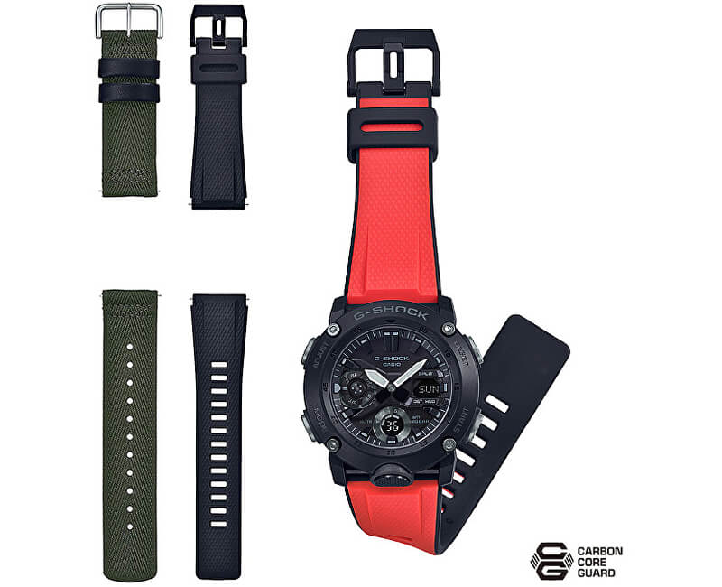 Casio G-Shock Carbon Core Guard GA-2000E-4ER (633) - Dárkový set