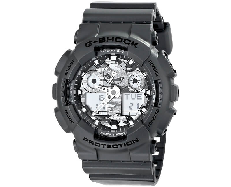 Casio The G/G-SHOCK GA 100CF-8A