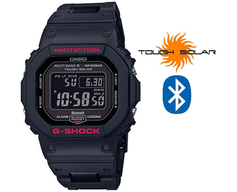 Casio G-SHOCK GW-B5600HR-1ER Bluetooth Solar (397)