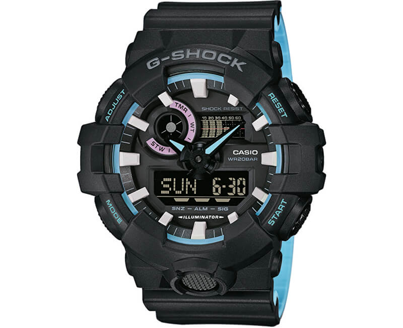 Casio The G G-SHOCK GA 700PC-1A Doprava ZDARMA  3f878f40266