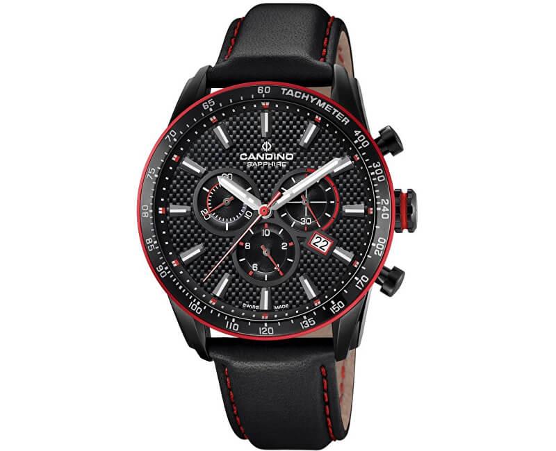 Candino Sport Chronos C4683 3 Doprava a roční pojištění hodinek ... a7e11bed259