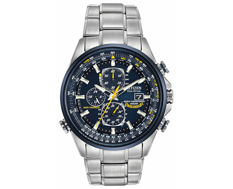 Citizen Promaster Skyhawk Eco-Drive Blue Angels AT8020-54L Ingyenes ... b8547a395c