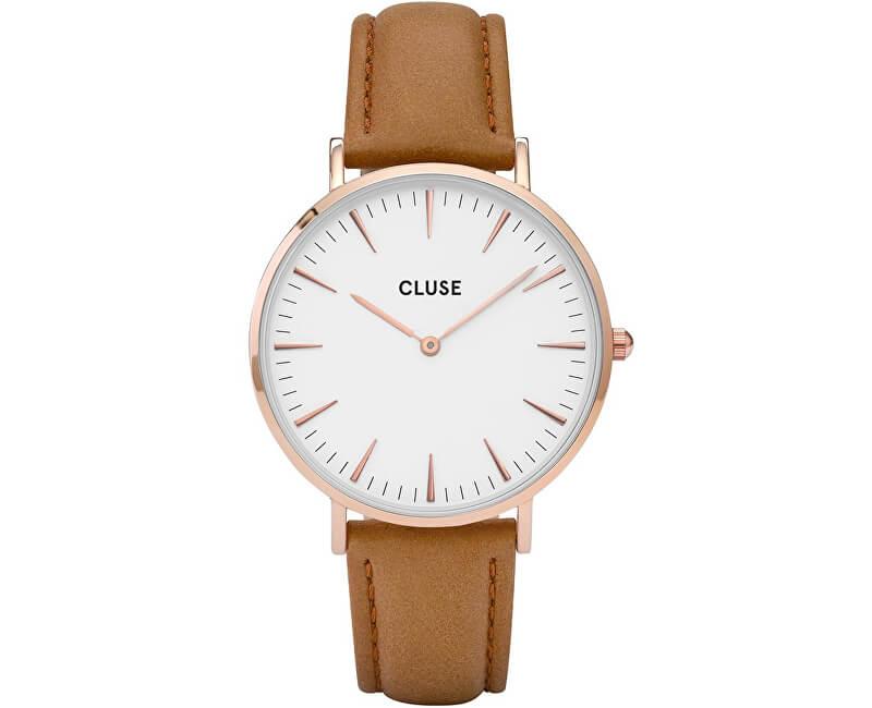 Cluse La Bohème Rose Gold White/Caramel CL18011